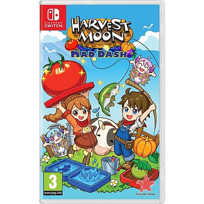 Harvest Moon Mad Dash Nintendo