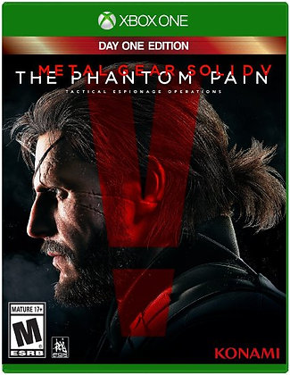 Metal Gear Solid 5:The Phantom Pain Day One Edition