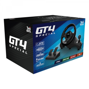 Two Dots GT4 Special steering wheel