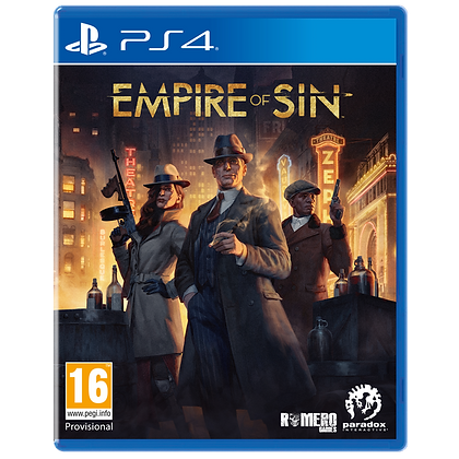 Empire of Sin PS4 Game