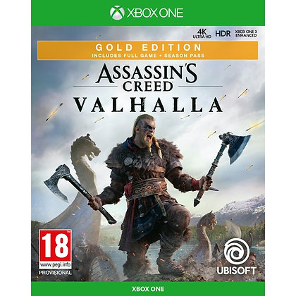 Assassin's Creed Valhalla Gold Edition Xbox One Game (Pre-Order Bonus Mission DL