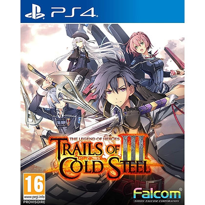 The Legend of Heroes Trails of Cold Steel III Early Enrollment Edition PS4