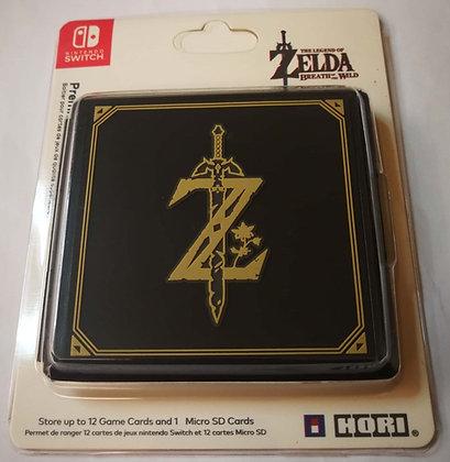 12 Slots Zelda: Breath of the Wild Game Card Cartridge Storage Case Box
