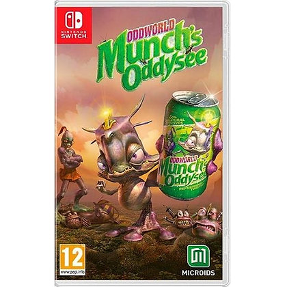 Oddworld Munch's Oddysee Nintendo
