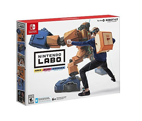 Nintendo Switch Labo: Toy-Con 02 Robot Kit