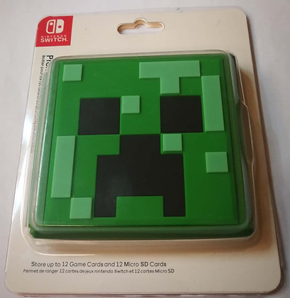 12 Slots Minecraft Game Card Cartridge Storage Case Box