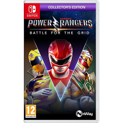 Power Rangers Battle for the Grid Collector's Edition Nintendo