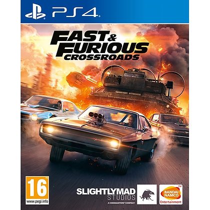 Fast & Furious Crossroads PS4 Game