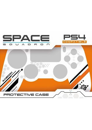 Space Squadron PS4 Controller Protective Case (White)
