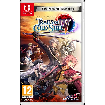 The Legend of Heroes Trails of Cold Steel IV Frontline Edition Nintendo Switch G