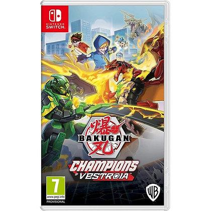 Bakugan Champions Of Vestroia Nintendo