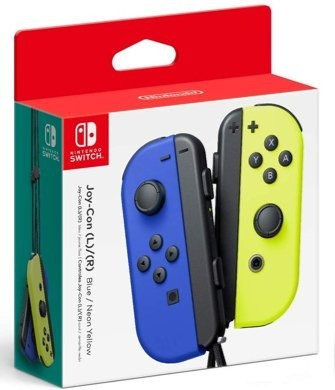Joy-Con Controllers Blue with Neon Yellow