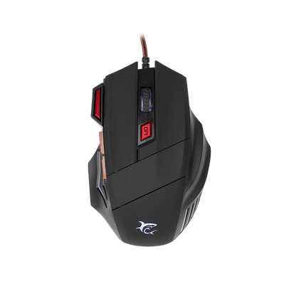 White Shark GAMING MOUSE GM-5005 MARCUS-2 Crni / 6.400 dpi