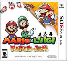 Mario and Luigi Paper Jam Bros.