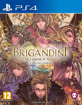 Brigandine: The Legend of Runersia Collector's Edition Playstation 4