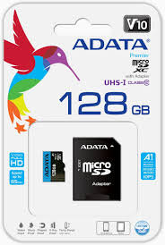 ADATA Micro SDXC Card with Adapter