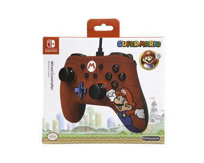 Nintendo Switch Wired Controller – Mario (Character Series)