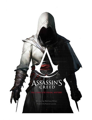 Assassin's Creed Art Book The Complete Visual History Hardcopy