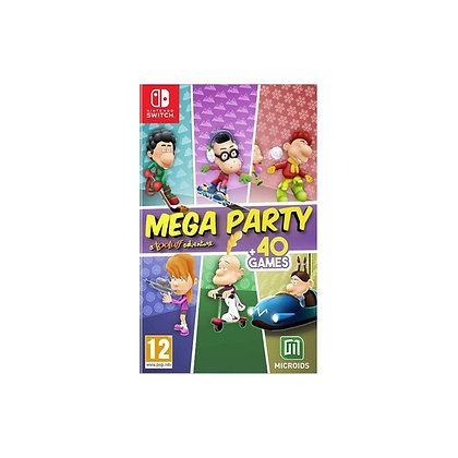Mega Party a Tootuff Adventure Nintendo Switch Game