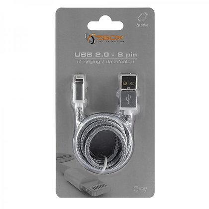 Sbox USB 2.0 8 Pin IPH7-GR (grey)