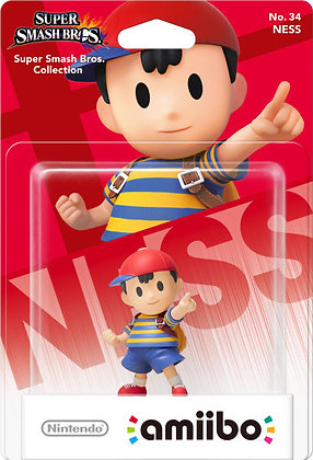 Amiibo Super Smash Brothers Brawl Ness