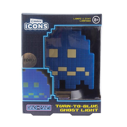 Pac-Man Turn to Blue Ghost Icon Light