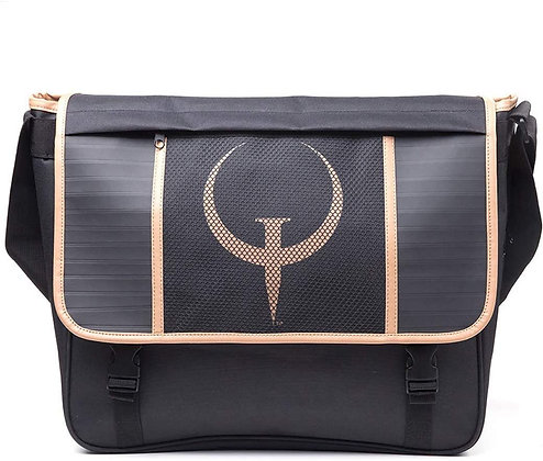 Quake Bag Game Logo Messenger Bag