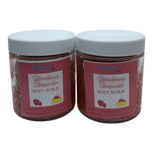 Strawberry Cake Sugar Scrub