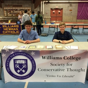 Society Attracts Prospective Students at 2018 Purple Key Fair