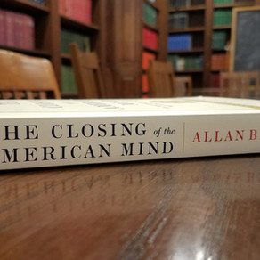 """Meeting: """"The Closing of the American Mind, Part I"""""""