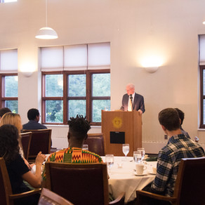 George H. Nash Presents at the Williams Faculty Club