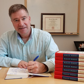 """Society Distributes Copies of Chris Gibson's """"Rally Point"""""""