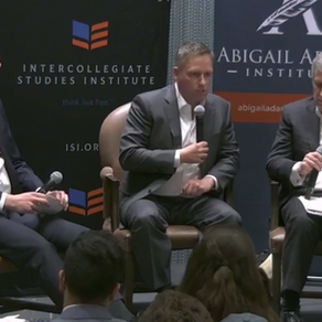 Students Attend ISI Debate Featuring Peter Thiel