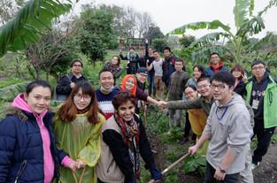 (聯合新聞網)多國青年走訪台灣 看見眷村和食農教育