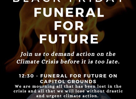 November 29th – Funeral for Our Future