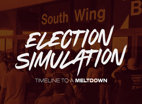 Timeline to a Meltdown: 2020 Election Simulation