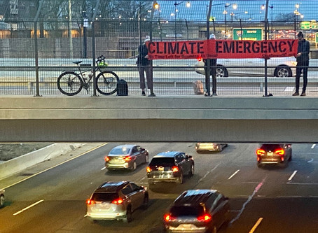 We're sounding the alarm -- It's a climate emergency and there's no time left for business as usual!