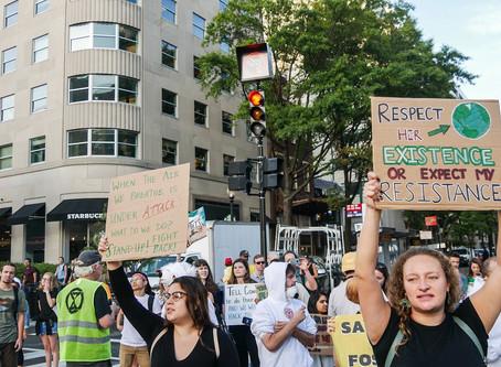 Climate Justice Pop-Up Disruption