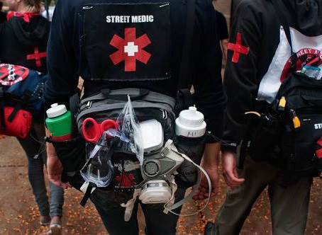 Street Medics - Keeping the Movement Healthy and Safe