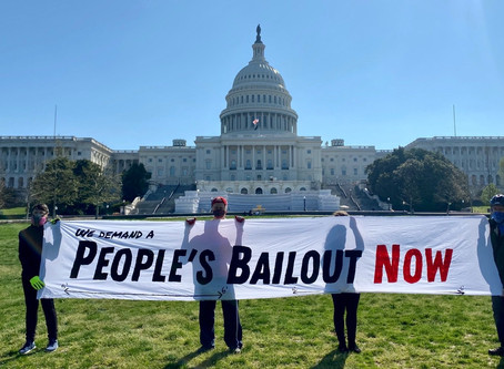 We Demand a People's Bailout NOW