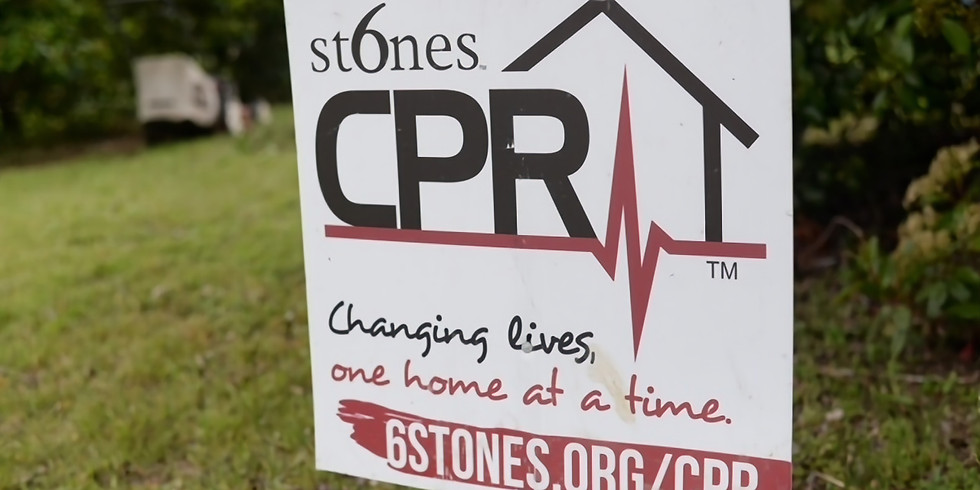 Fall CPR (Community Powered Revitalization) With 6 Stones