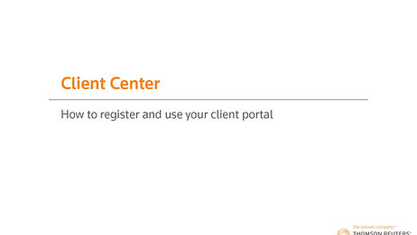 LEarn how to use your Onvio Center portal