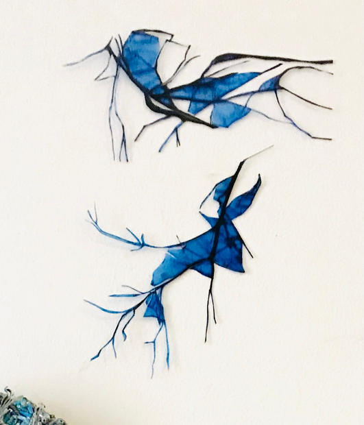 GINA FUENTES WALKER   SMALL BLUE CREATURES