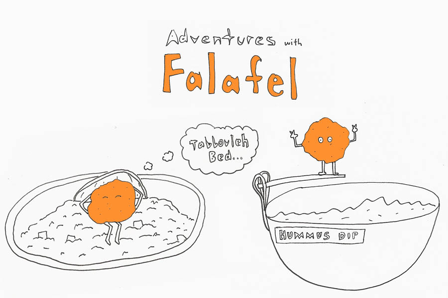 adventures with falafel