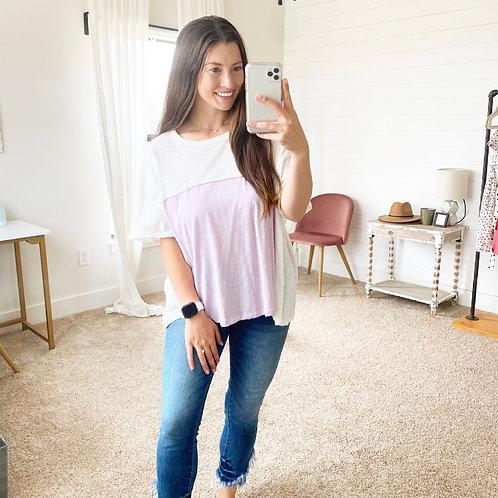Comfy Lavender Top