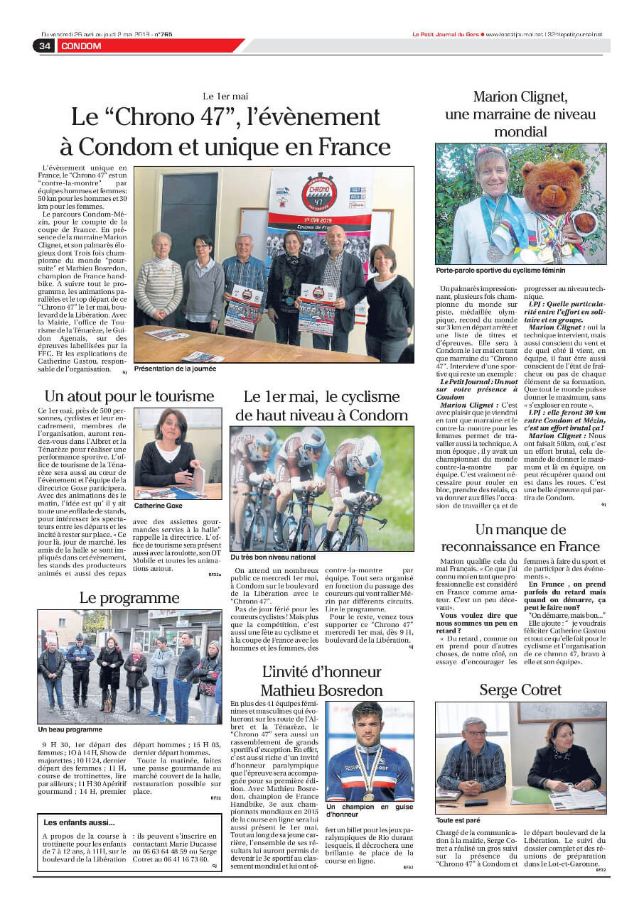 Edition du vendredi 26 avril 2019
