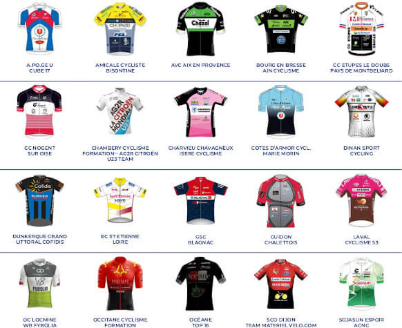 Plaquette Maillots - Structures N 2021 -