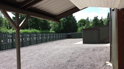 7 x 4.5 Storage entrance