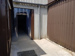 Entrance to New units