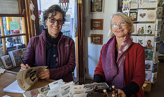 Jan and Marisa June 2020 Canungra Books